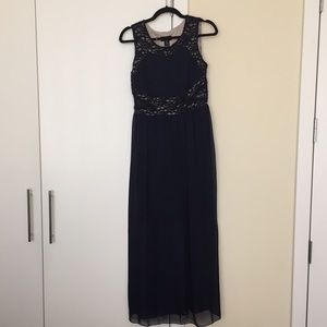 Dresses & Skirts - 🆕 Boutique Sleeveless Formal Navy Long  Dress