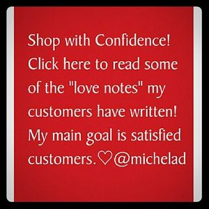 Handbags - Love Notes and Stats.  CUSTOMER SATISFACTION is #1