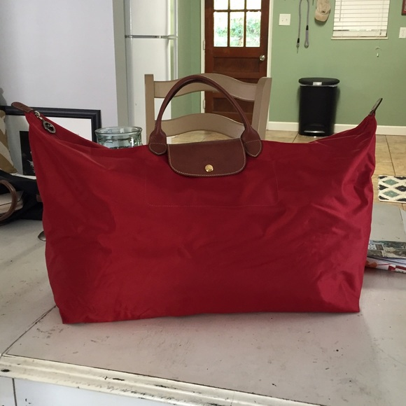 23477e9bb7ad Longchamp Bags | Xl Le Pliage Travel Bag | Poshmark
