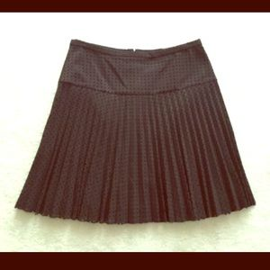 J. CREW lazed cut, pleated skirt. Never worn!