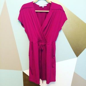 Collective Concepts Dresses & Skirts - 🆕 Collective concepts fuscia wrap dress