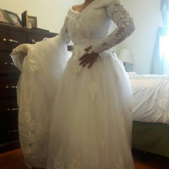 44 off gloria vanderbilt dresses skirts wedding dress for Gloria vanderbilt wedding dress