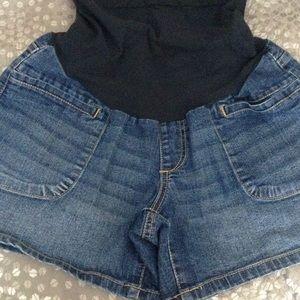 Maternity Jean shorts Size M