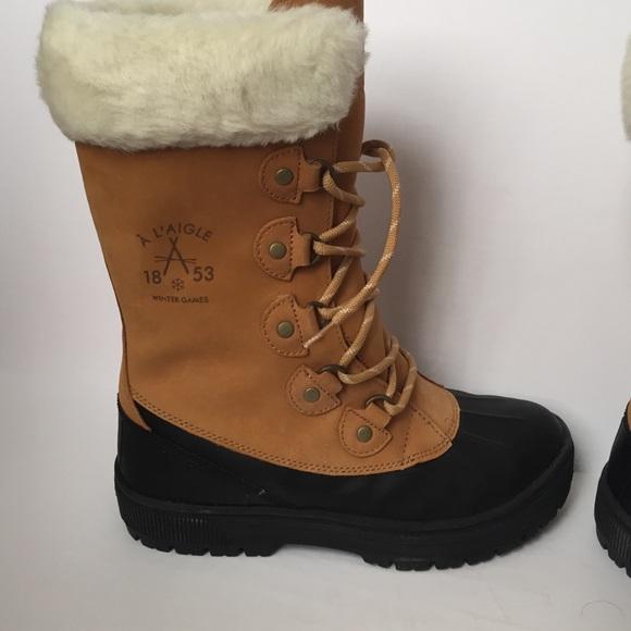 31% off Aigle Shoes - NIB AIGLE Cabestan Winter Duck Boots