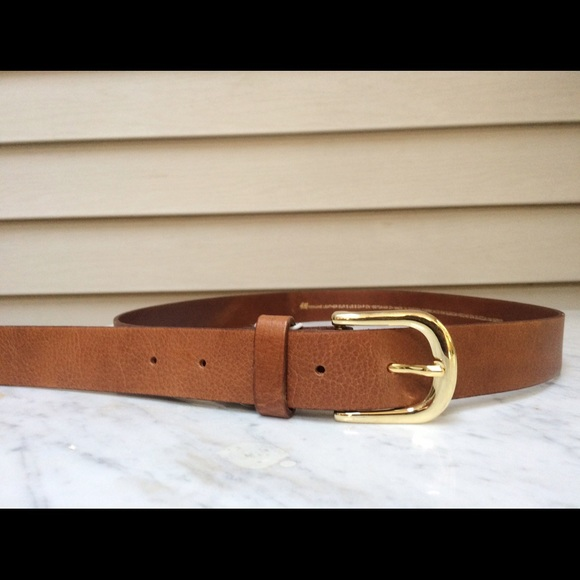 89219c1490f85 H&M Accessories | New With Tags Genuine Brown Leather Belt Hm | Poshmark