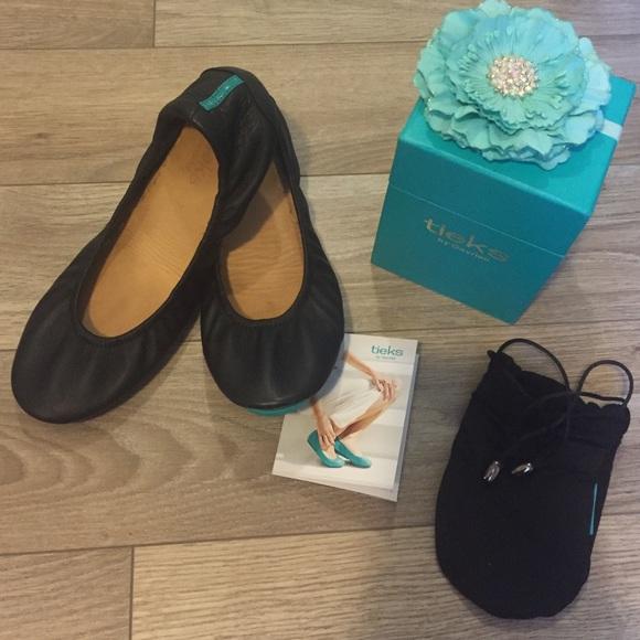 Tieks Shoes | Matte Black Tieks Size 7