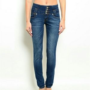 Kaba Denim - High Waiste Jean's