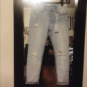 Rails Denim - Rails Distressed Boyfriend Jeans