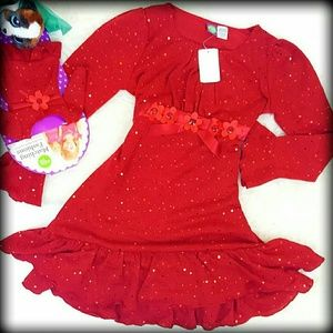 "Dollie & Me Other - ✔LAST 1's✔ DOLLIE ME 14 Plus Holiday Dress 18"" Dol"