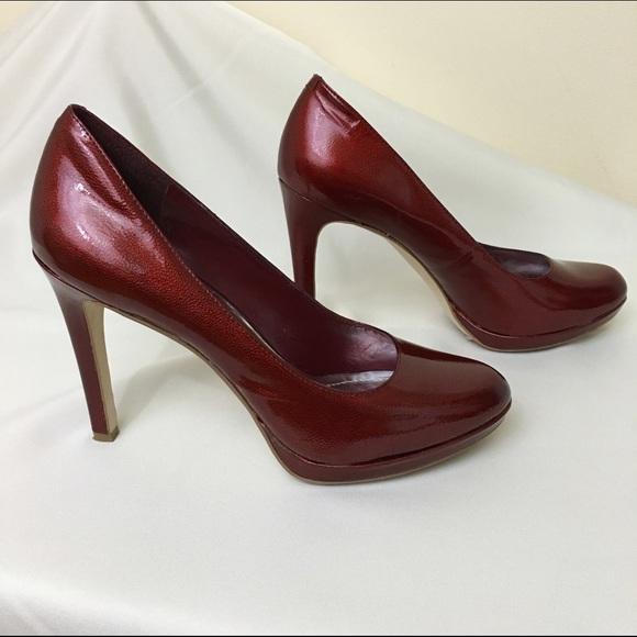 0bc25f6ad9c6 BCBGeneration Shoes - ✂ BCBG Burgundy Pumps Round toe High Heels Shoes