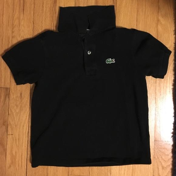 26cda1607ba22b Lacoste Other - Lacoste black polo shirt