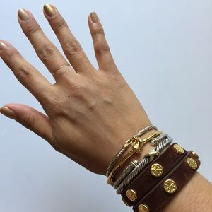Tory Burch Jewelry - Tory burch wrap suede bracelet