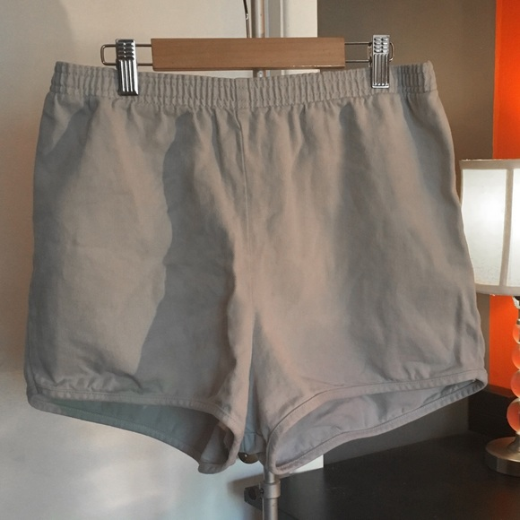 American Apparel Pants - High waisted light denim short- brand new!