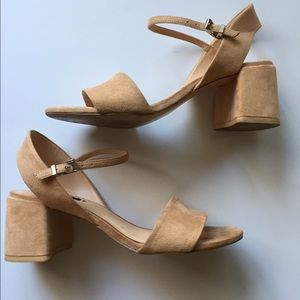 Zara Shoes - Zara low heel blush