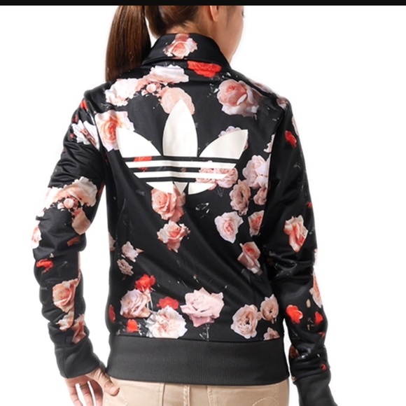 adidas originals rose track top