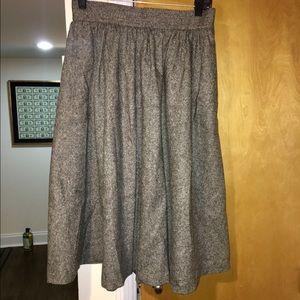Steven Alan Dresses & Skirts - Steven Alan midi wool skirt size 8
