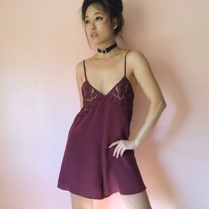 Keepsake Other - Keepsake Intimates Lace Silk Romper