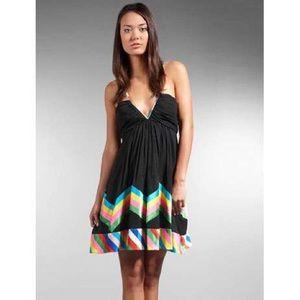Foley & Corinna Black Rainbow Dress
