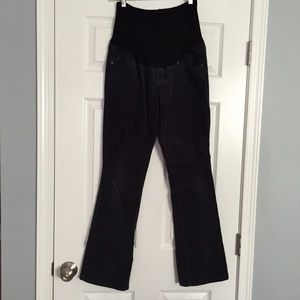 Old Navy Pants - Old Navy maternity dark grey corduroy pants