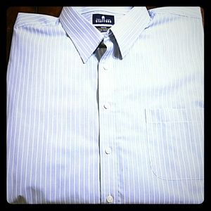 Other - 🌱🌹Blue and white stripe dress shirt
