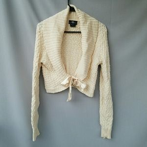It's Our Time Sweaters - Cream Bow Sweater