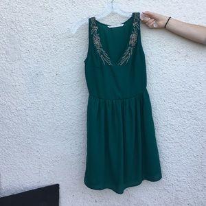 Trafaluc Emerald Dress