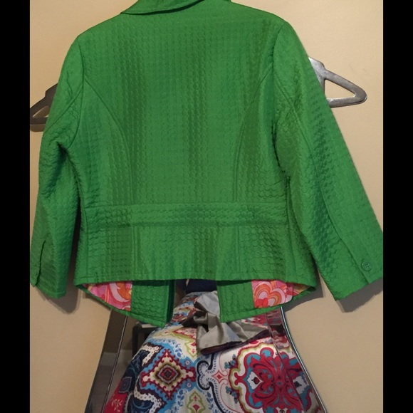 Carole Little - Apple green JACKET from Price's closet on Poshmark
