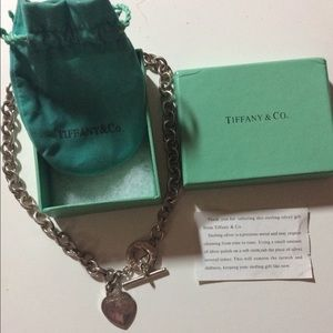 Authentic Tiffanys charm necklace