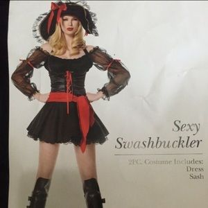Halloween Sexy pirate costume