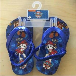 Other - New Paw Patrol Sandals Size Toddler S 5/6