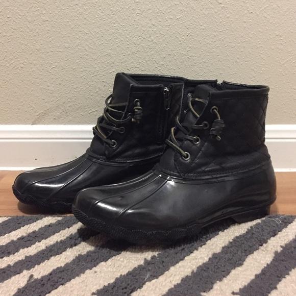 16698c423ba Steve Madden Tillis Duck Boots