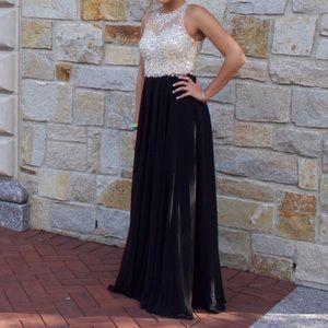 JVN By Jovani Black Formal Dress