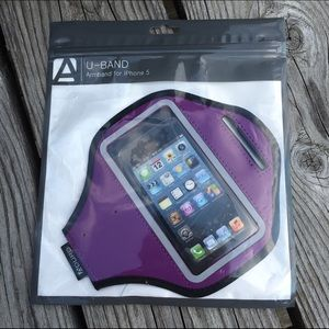 Purple IPHONE Arm Band! NEW!