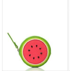 "kate spade Handbags - Kate Spade ""Make A Splash"" Watermelon Coin Purse"