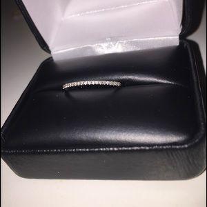 Jewelry - white gold diamond wedding band eternity ring