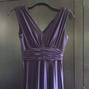 Suzi Chin Plum Dress