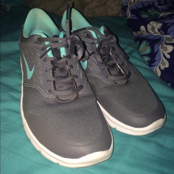 Nike Grey And Tiffany Blue Tennis
