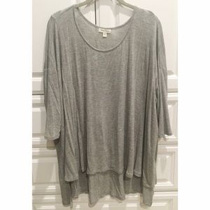 Urban Outfitters Grey Tunic Tee