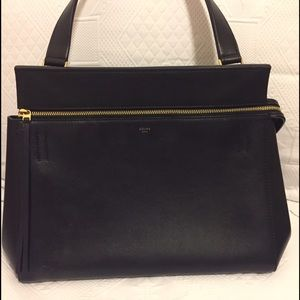 Celine Navy and Black Edge Bag