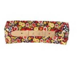Kate Spade Saturday Scarf Belt Busy Floral