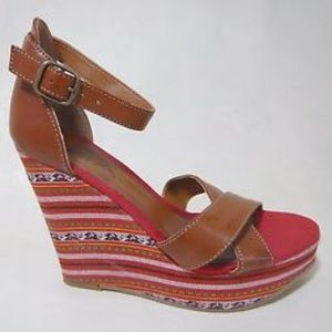 Shoes - Accepting Offers MIA tribal wedge Heels