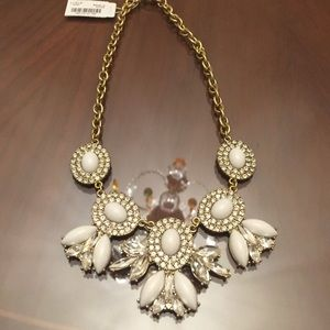 Brand New J. Crew Crystal Statement Necklace