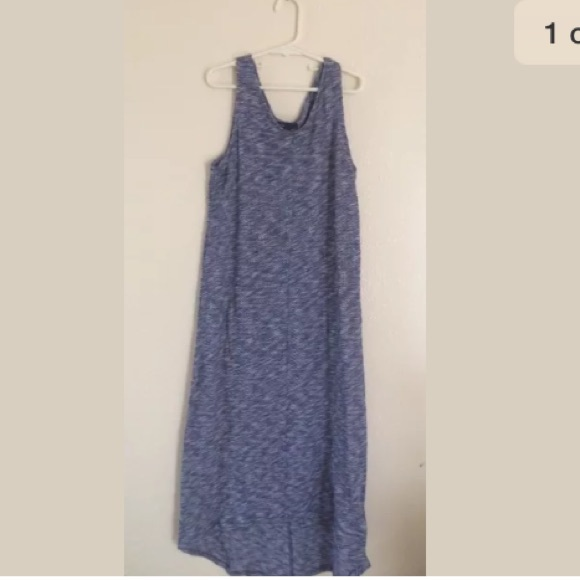 ca2086920c58 GAP Other - GAP kids girls maxi dress blue white