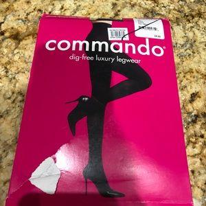 Commando Accessories - Ultimate opaque matte tights small black
