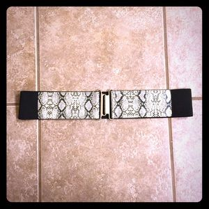 New York & Company Accessories - Snakeskin Belt