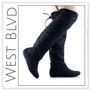 ✨West Blvd Faux Suede Over-The-Knee Boot✨