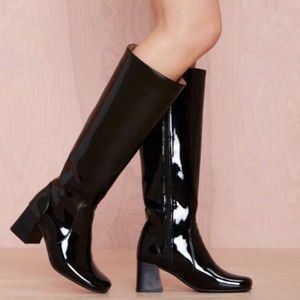 Jeffrey Campbell Shoes - Jeffrey Campbell black Gogo Girl boots