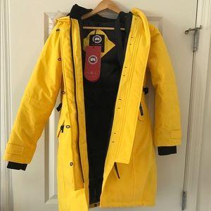 Canada Goose Jackets & Blazers - Canada Goose Yellow Women's Kensington Parka XS