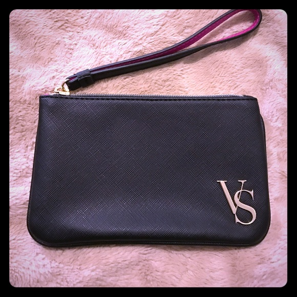 Victoria S Secret Bags Victoria Secret Black Clutch Wallet