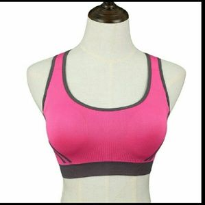 Women Athletic Sports Bras Plus Size Push Up Crop